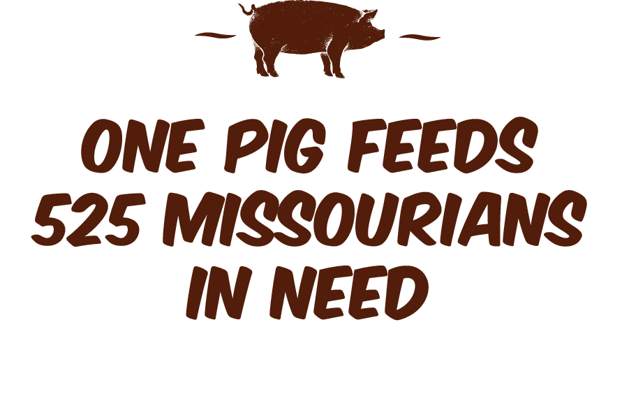 Hogs for Hunger Graphic